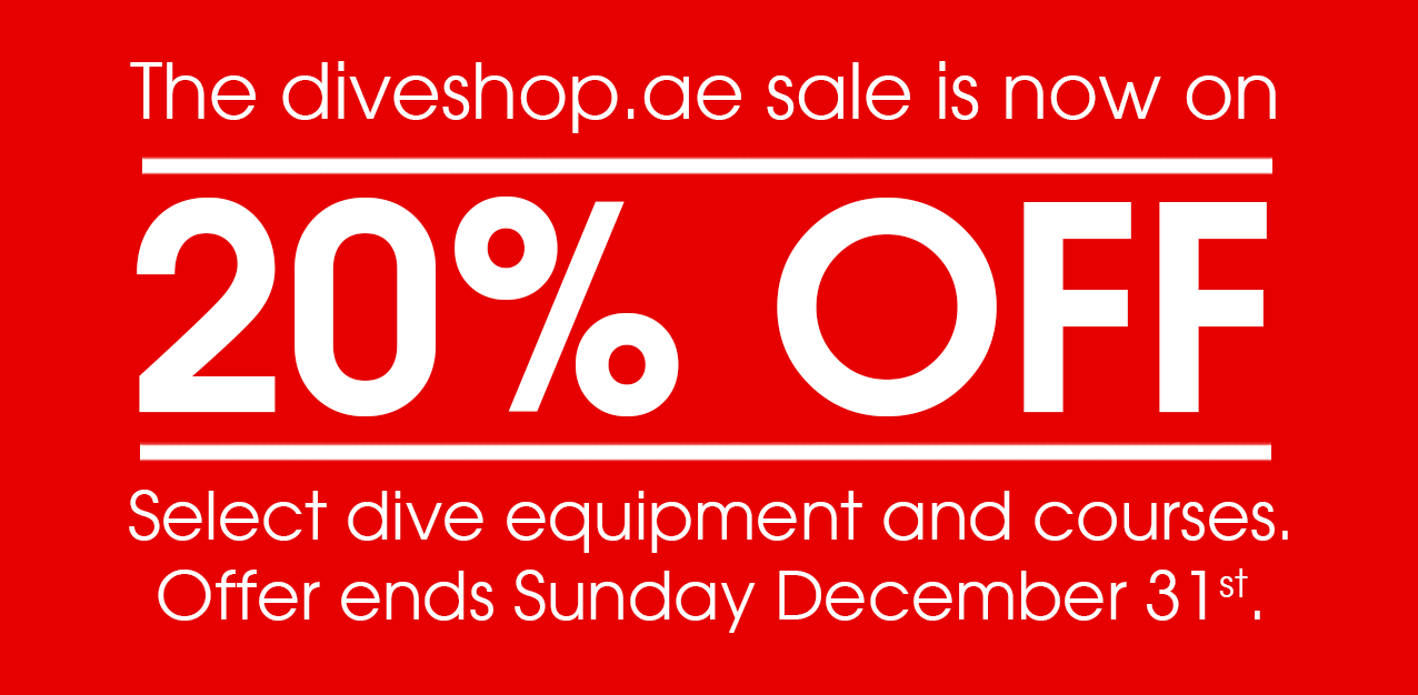 Enjoy the massive 00% and up discount from diveshop.ae