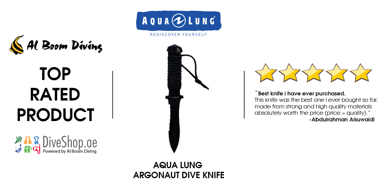 Aqua Lung Argonaut Dive Knife from diveshop.ae