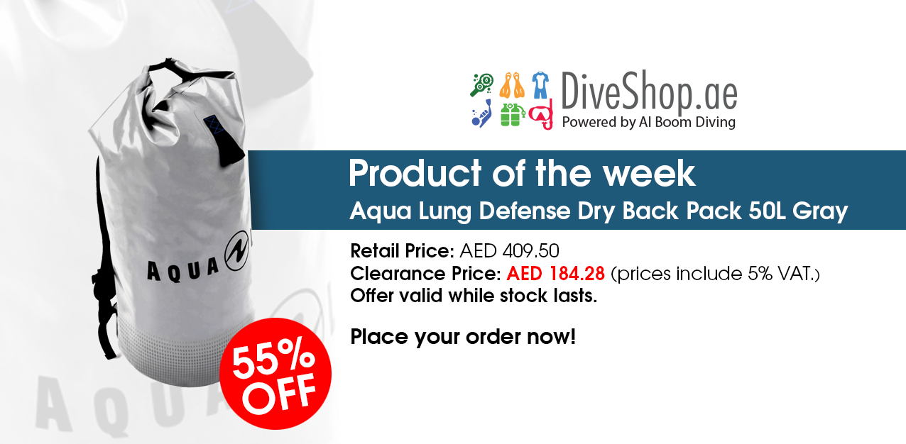 Aqua Lung Defense Dry Back Pack from diveshop.ae